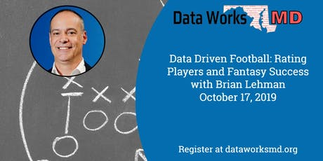 Data Driven Football: Rating Players and Fantasy Success tickets