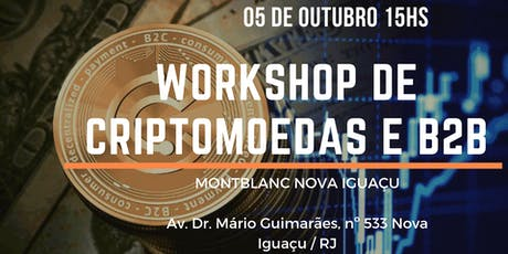 Workshop de Criptomoedas e B2B tickets