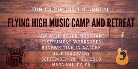 Flying High Music Camp and Retreat  tickets