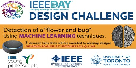 IEEE Day Machine Learning Hackathon Design Challenge tickets