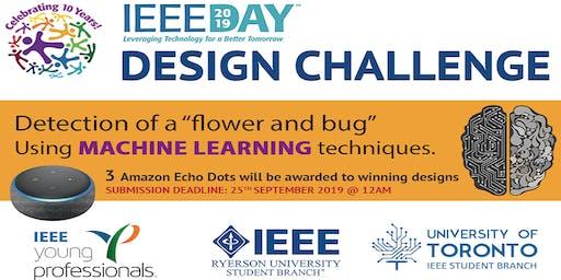 IEEE Day Machine Learning Hackathon Design Challenge