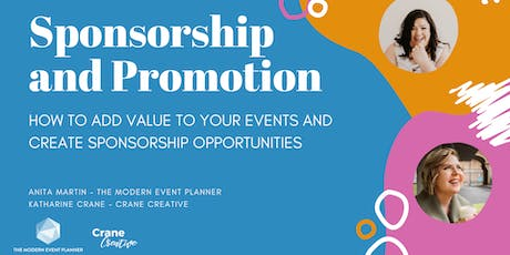 Event Sponsorship and Promotions Workshop tickets