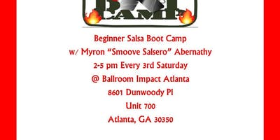 Beginner Salsa Boot Camp - November