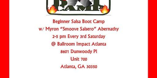 Beginner Salsa Boot Camp - November