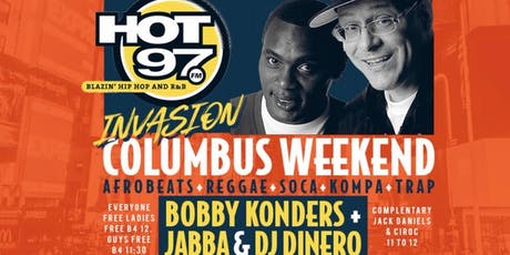 Hot 97 Massive B | Caribbean Saturdays Party | Columbus Day Wkend | Bring ya best whine!  | Free Entry, Jerk chicken & Rum Punch | Hookah |  tickets