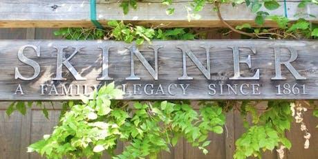 Skinner Vineyard Wine & Food Pairing Event | November 13 | 7pm - ? tickets