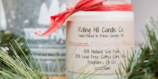 Winter Candle Making Class with Rolling Hill Candle Co.