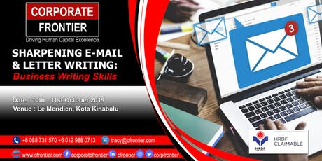 Sharpening E-Mail & Letter Writing: Business Writing Skills tickets