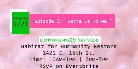 Kappa Iota--Habitat for Humanity Community Service tickets