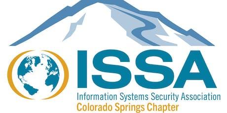 ISSA-COS Mini-Seminar, October 2019 tickets