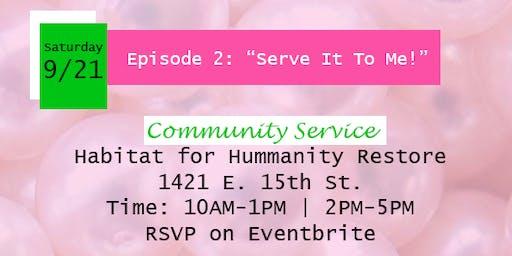 Kappa Iota--Habitat for Humanity Community Service