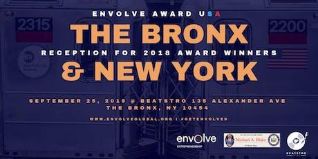 Envolve Award USA – The Bronx & New York City Reception tickets