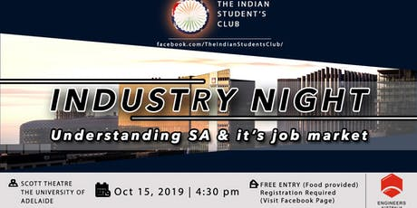 The Indian Students Club Industry Night tickets