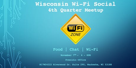Wisconsin Wi-Fi Social Quarterly tickets