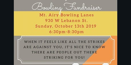 Bowling Adoption Fundraiser tickets