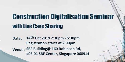Construction Digitalisation Seminar