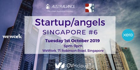 Startup&Angels Singapore #6  tickets