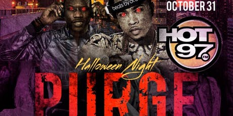 Hot 97 Purge Rooftop Costume Party Halloween Night @ Skyroom tickets