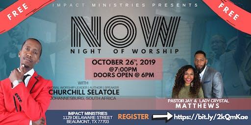 Night of Worship at Impact w/ Churchill Selatole