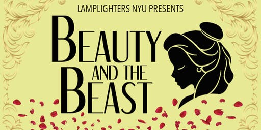 Lamplighters NYU presents BEAUTY & THE BEAST - Concert & Tea Party, Sat 8pm