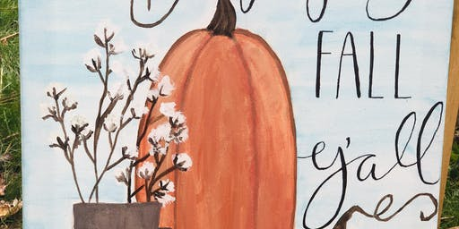 Fall Y'all Painting