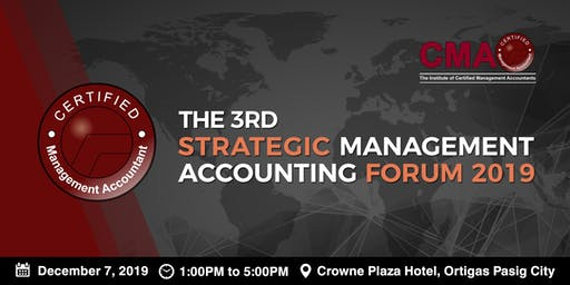 CMA Forum: Frontiers of Accounting 2019