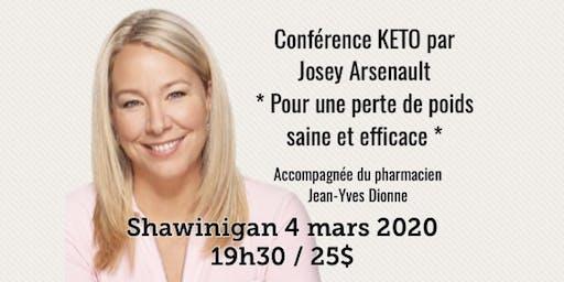 SHAWINIGAN - Conférence KETO - Pour une perte de poids saine et efficace!