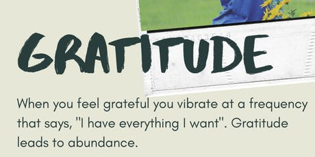 Gratitude Yoga Session:: Affirmations in the Sky  tickets