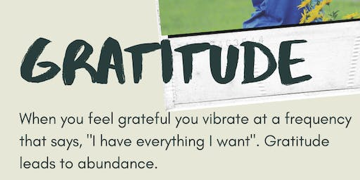Gratitude Yoga Session:: Affirmations in the Sky