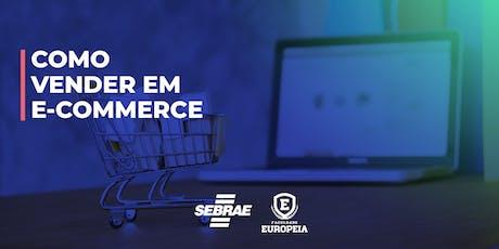 Como Vender Por Site de Comércio Online ingressos