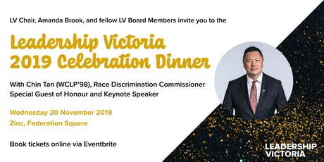 Leadership Victoria 2019 Celebration Dinner tickets
