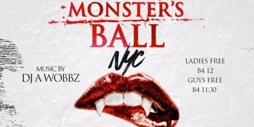 Monsters Ball Costume Party Halloween Night @ SOB's