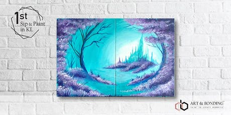 Sip & Paint Date Night : Frozen Forest tickets