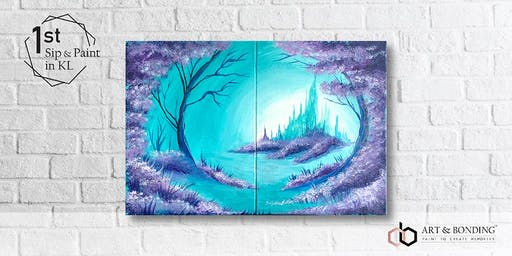 Sip & Paint Date Night : Frozen Forest