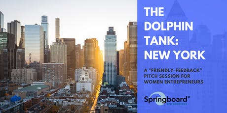 The Dolphin Tank: New York tickets