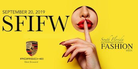 South Florida International Fashion Week - Porsche West Broward tickets