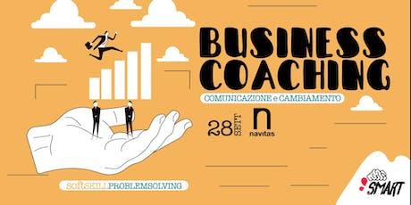 Comunicazione e Cambiamento - Coaching in Azienda biglietti