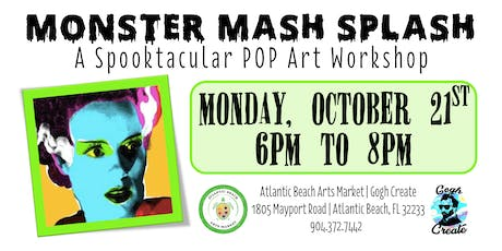 Monster Mash Splash - A Spooktacular POP Art Workshop tickets