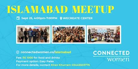 #ConnectedWomen Meetup - Islamabad (PK) - September 25 tickets