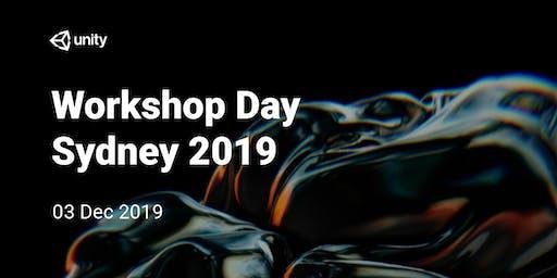 Unity Workshop Day : Sydney 2019