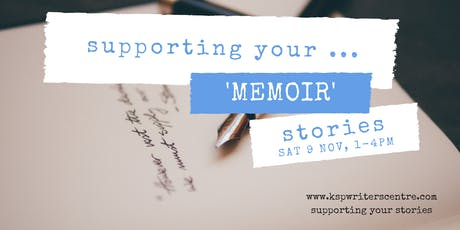 Supporting Your ... 'Memoir' Stories tickets