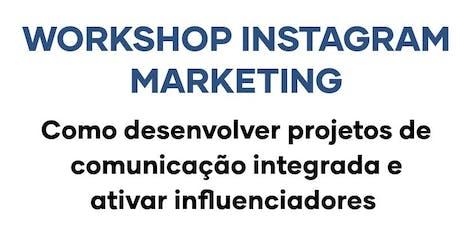 Workshop Instagram Marketing ingressos