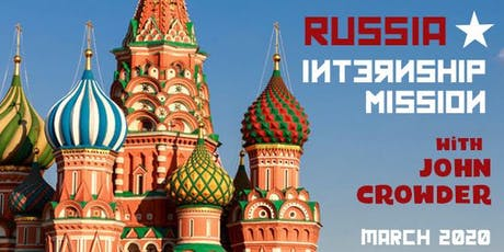 RUSSIA MISSION & INTERNSHIP ROAD SCHOOL tickets