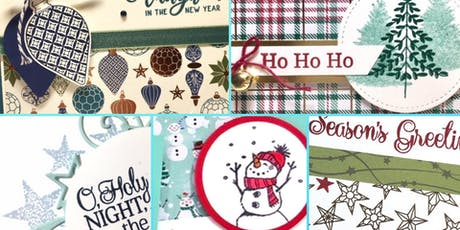 Christmas Stamp A Stack Card Classes tickets