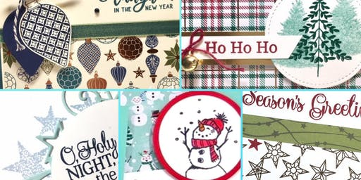 Christmas Stamp A Stack Card Classes