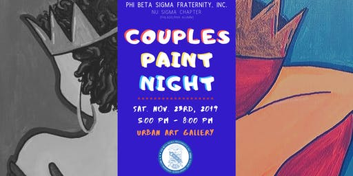 ФΒΣ Nu Sigma Chapter - 'Couples Paint Night'