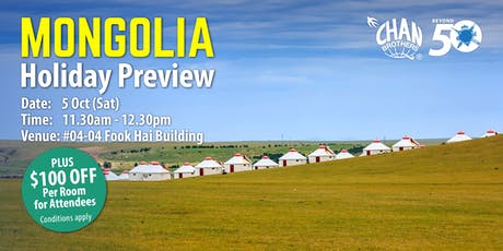 Mongolia Holiday Preview tickets