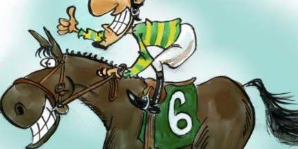 An Auty Race - Horse Race Night - Soho