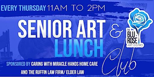 Every Thursday Senior Art and Lunch Club