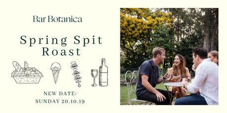 Bar Botanica Spring Spit Roast tickets